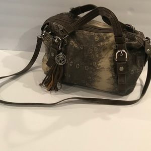 Relic Purse With Snakeskin Pattern